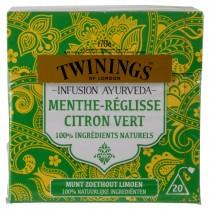 Twinings thee zoethout limoen 20 zakjes