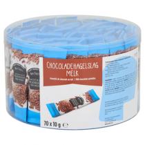 Van Oordt chocoladehagel melk 70 x 10 gram