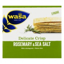 Wasa crackers Delicate rosemary en salt 190 gram
