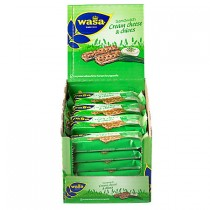 Wasa sandwich cream cheese & chives 24 x 37 gram