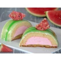 Watermeloen gebakje