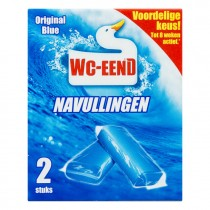 WC Eend toiletblok Original Ocean bleu 2 navullingen