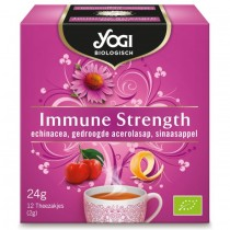 Thee Yogi Biologisch Immune Strength 12 zakjes