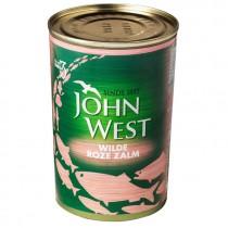 Zalm roze John West 418gram