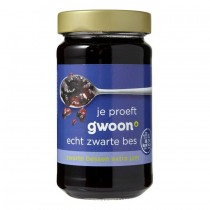 Zwarte bessen jam G'woon 400 gram