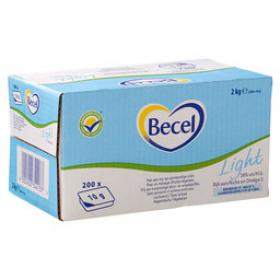 Margarine Becel cups light 200 x 10 gram