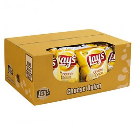 Chips Lay's mini cheese union 20 x 40 gram