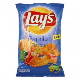Chips Lay's paprika 8 x 225 gram