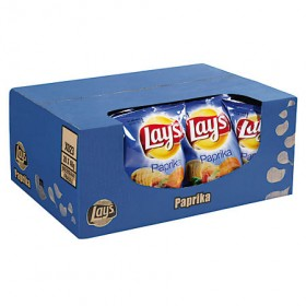 Chips Lay's paprika doos minizakjes 20 x 40 gram