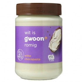 Chocoladepasta Wit G'woon 400 gram