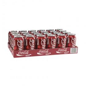 Coca cola Cherry blikjes 24x0,33L