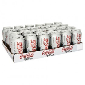 Coca cola light 10 tray 24 blikjes  a 33 cl.