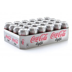 Coca cola light blikjes 24 x 0,33L