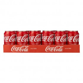Coca cola regular 10 tray  24 blikjes a 33 cl.