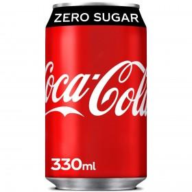 Coca cola Zero blikjes 24x0,33L