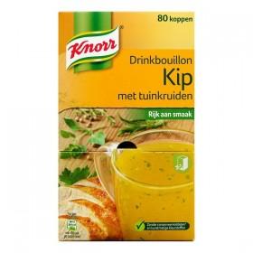 Knorr drinkbouillon kip met tuinkruiden 80 stuks