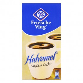 Koffiemelk halvamel Friesche Vlag pak 455 ml