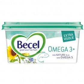 Margarine Becel Omega-3 kuip lactosevrij 500 gram
