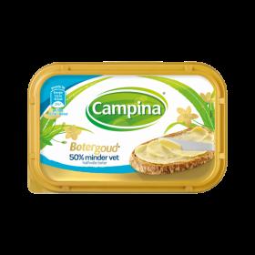 Roomboter Campina botergoud 50% minder vet 225 gram
