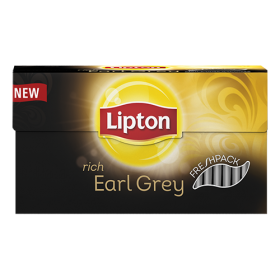 Thee Lipton Earl grey fresh 25 zakjes