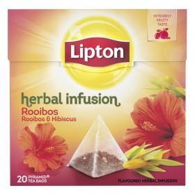 Thee Lipton Rooibos 20 zakjes