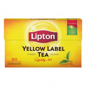 Thee Lipton Yellow label 20 zakjes