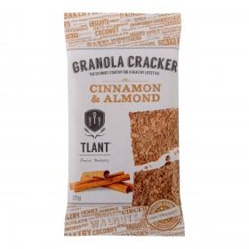 Tlant granola cracker cinnamon almond, glutenvrij lactosevrij BIO 20 x 25 gram