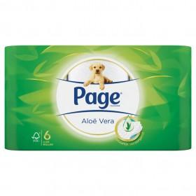 Toiletpapier Page aloe vera 4 x 6 rollen