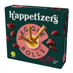 Topking Veggie rolls red bean 33 x 17 gram