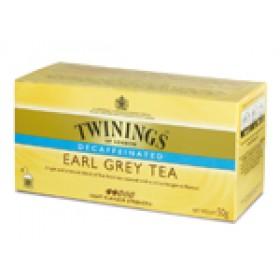 Thee Twinings earl grey decaf cafeïnevrij 25zakjes