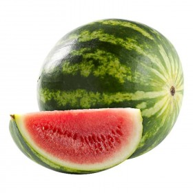 Watermeloen per stuk (prijs per kilo)