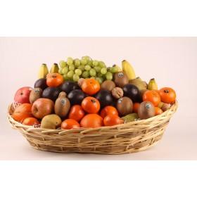 Fruitmand werkfruit large met een divers assortiment vers fruit