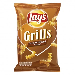 Chips Lay's Grills 125 gram