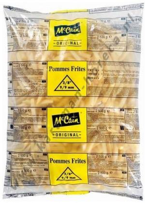 Patat frites diepvries MCcain 2500gram