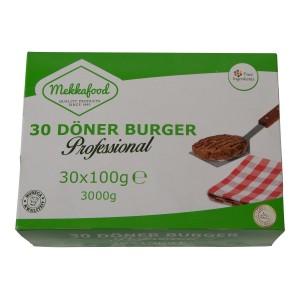 Hamburgers Halal Mekkafood  30 stuks