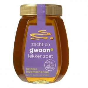 Honing vloeibaar G'woon pot 500ml