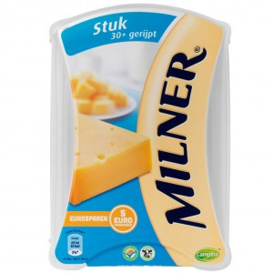 Kaas Milner 30+ gerijpt 450 gram