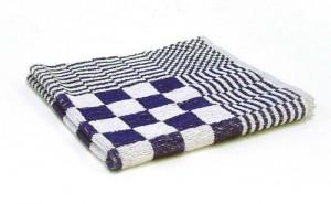 Keukendoeken handdoek geruit 50x50cm 4stuks