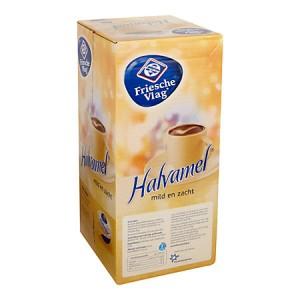 Koffiemelkcups Friesche Vlag halvamel 400 stuks