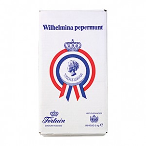 Pepermunt Wilhelmina doos 3 kilo