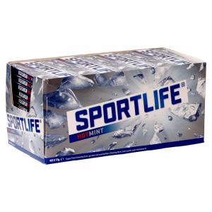 Sportlife Hotmint uitdeeldoos 48 pakjes