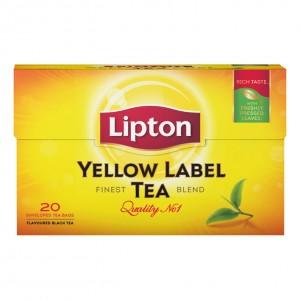 Thee Lipton Yellow label 20 zakjes