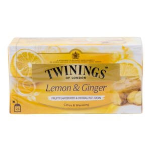 Thee Twinings citroen & gember 30 gram