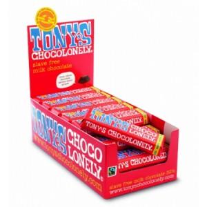 Tony's Chocolonely melk 35 x 50 gram