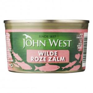 Wilde roze zalm John West 213 gram